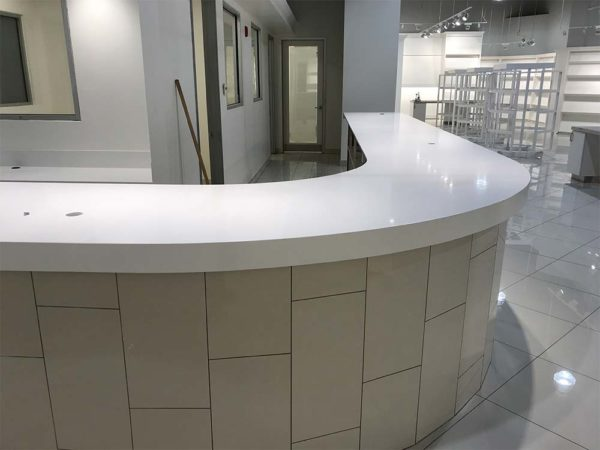 Quartz Reception Desk